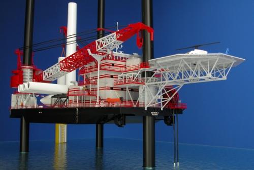 SeaTrax Pico 4 Crane Barge